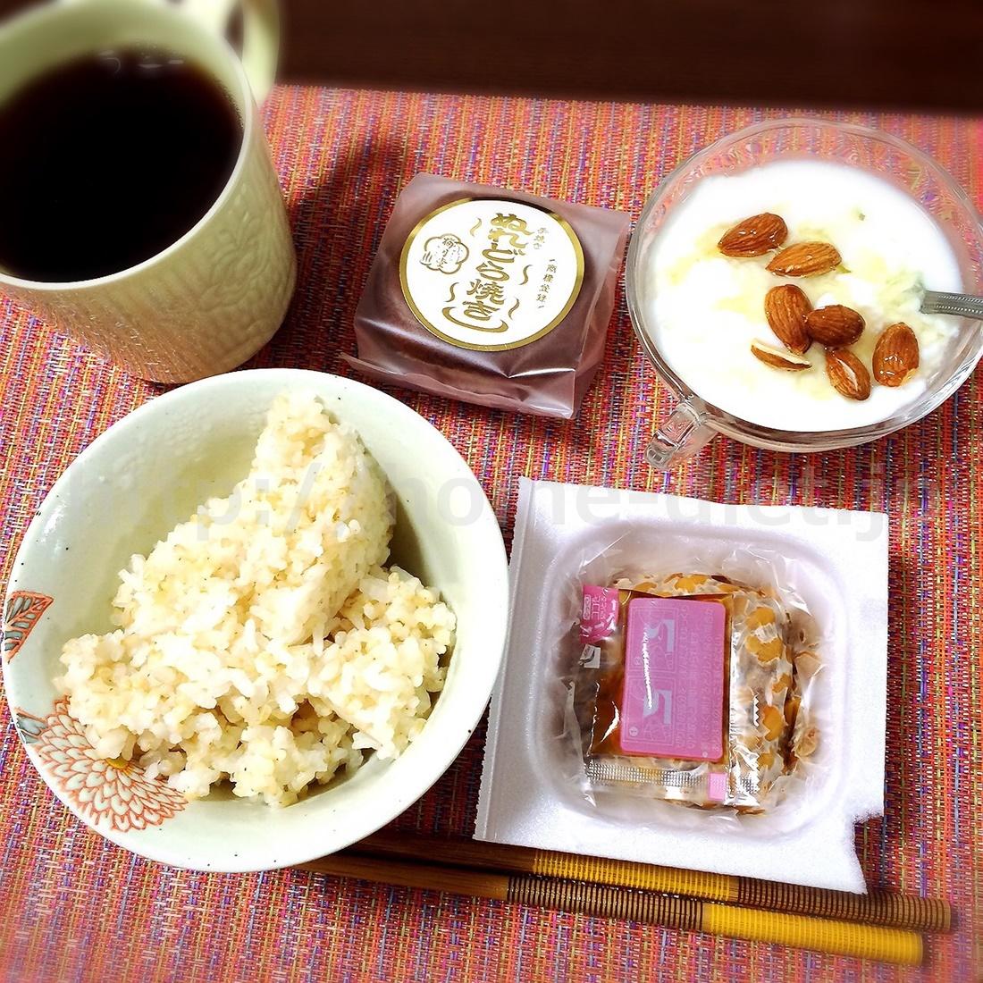きゃー子 朝食