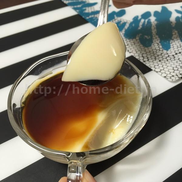 豆乳黒蜜プリン